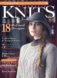 November 01, 2016 issue of Interweave Knits