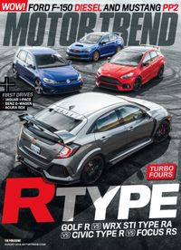 July 31, 2018 issue of Motor Trend