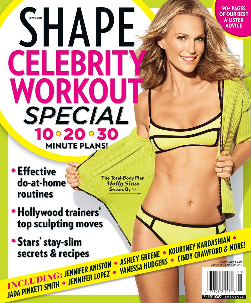Shape Celebrity Workout Special - Issue Subscriptions