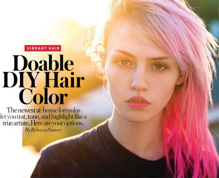 Doable DIY Hair Color