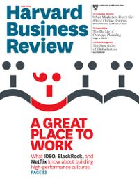 February 01, 2014 issue of Harvard Business Review