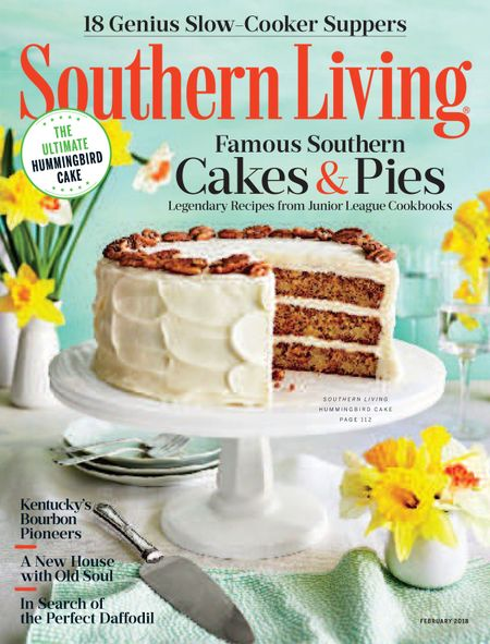 Buy February 2018 Southern Living