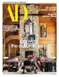 October 31, 2019 issue of Architectural Digest