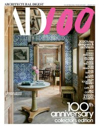 December 31, 2019 issue of Architectural Digest
