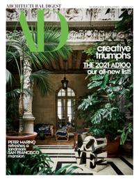 January 01, 2021 issue of Architectural Digest