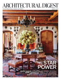 March 01, 2017 issue of Architectural Digest