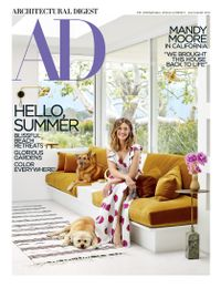 June 30, 2018 issue of Architectural Digest