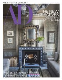 September 30, 2018 issue of Architectural Digest