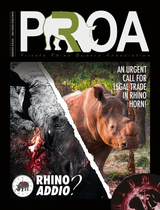 PRIVATE RHINO OWNERS ASSOCIATION (PROA) – RHINO ADDIO?