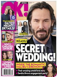 November 24, 2019 issue of OK! Magazine