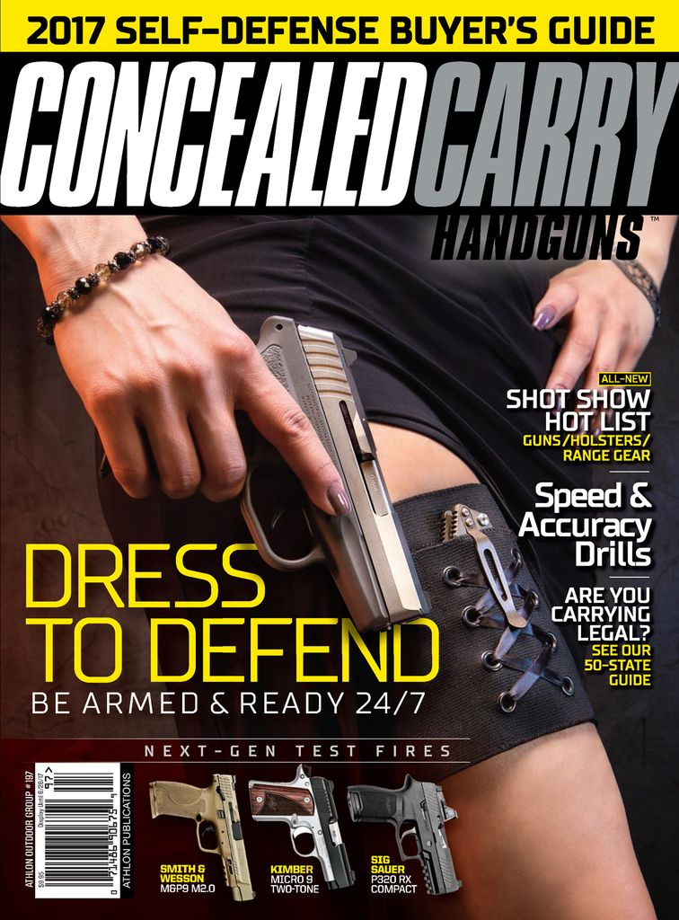 Concealed Carry Handguns - Issue Subscriptions