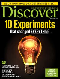 October 31, 2019 issue of Discover