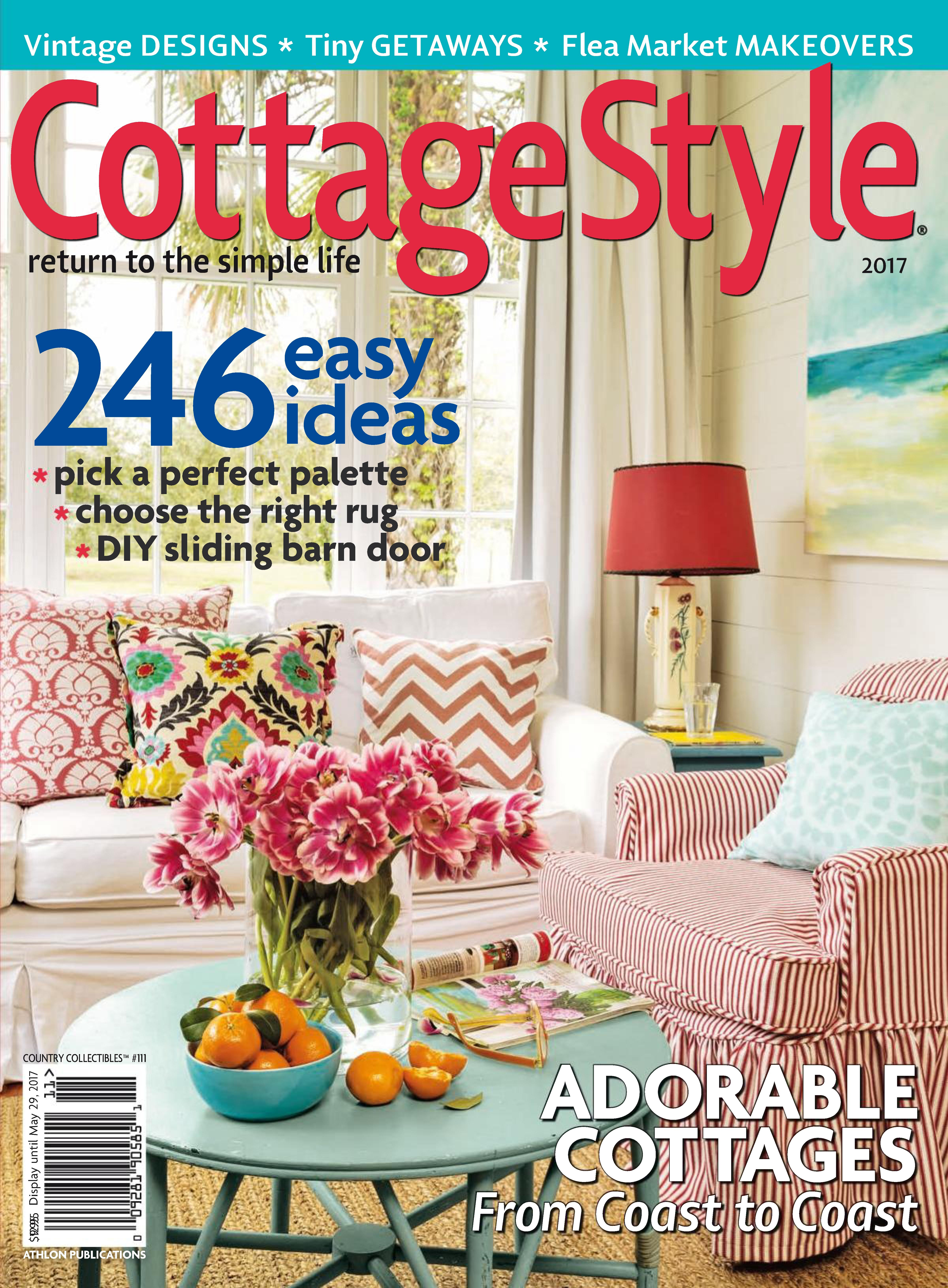 country collectibles cottage style subscription rh zinio com