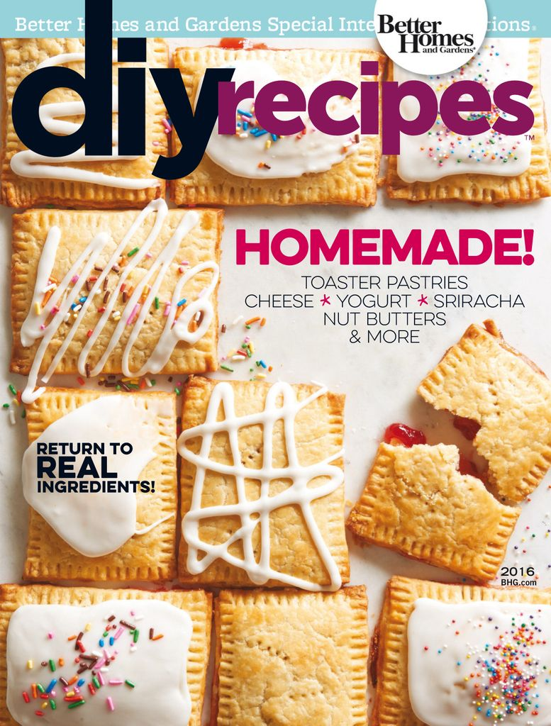 DIY Recipes - Issue Subscriptions