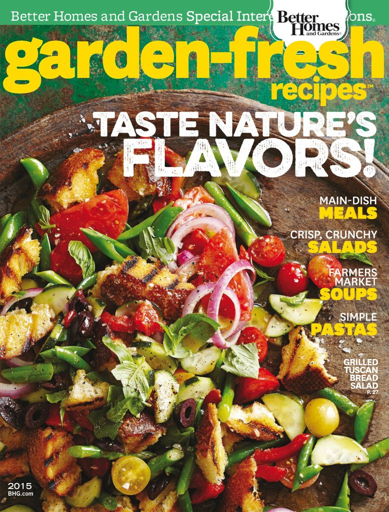 Garden Fresh Recipes - Issue Subscriptions