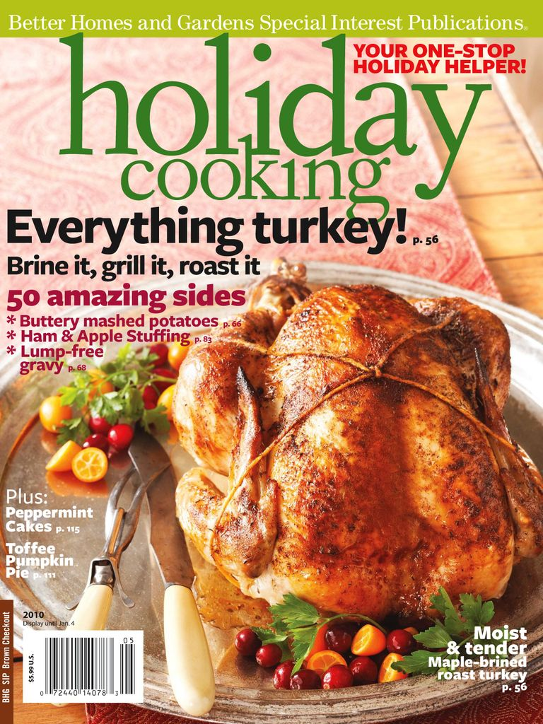 Holiday Cooking - Issue Subscriptions