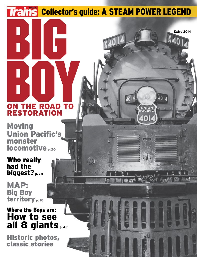 Big Boy: On the Road to Restoration - Issue Subscriptions