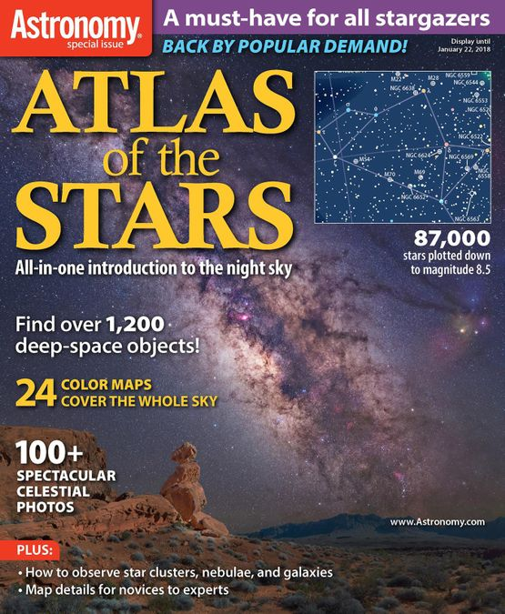 Atlas of the Stars: New Edition