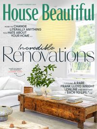 December 31, 2019 issue of House Beautiful