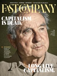 October 31, 2019 issue of Fast Company