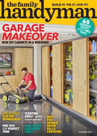 August 31, 2018 issue of Family Handyman