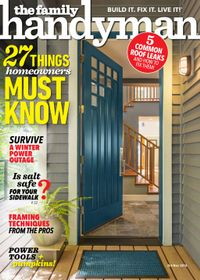 September 30, 2018 issue of Family Handyman