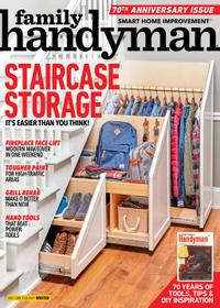 December 01, 2020 issue of Family Handyman