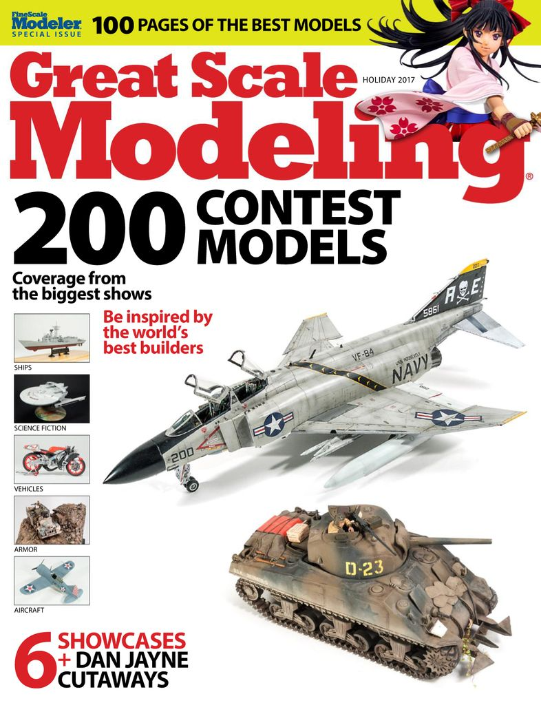 Great Scale Modeling 2017 - Issue Subscriptions