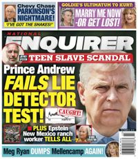 October 20, 2019 issue of National Enquirer
