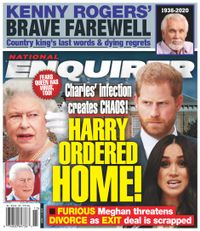 April 13, 2020 issue of National Enquirer
