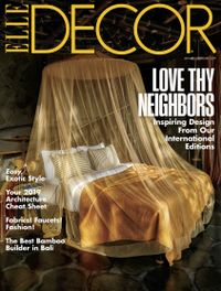 January 31, 2019 issue of ELLE DECOR