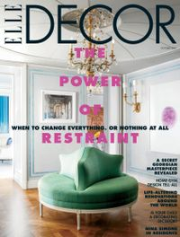 October 01, 2020 issue of ELLE DECOR