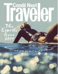 March 31, 2019 issue of Conde Nast Traveler