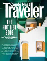 April 30, 2019 issue of Conde Nast Traveler