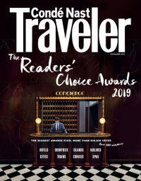 October 31, 2019 issue of Conde Nast Traveler