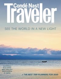 March 31, 2020 issue of Conde Nast Traveler