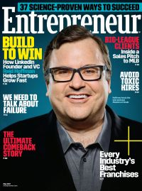 May 01, 2017 issue of Entrepreneur Magazine