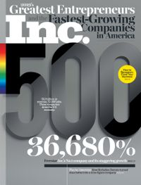 August 31, 2019 issue of Inc. Magazine