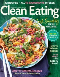October 31, 2018 issue of Clean Eating