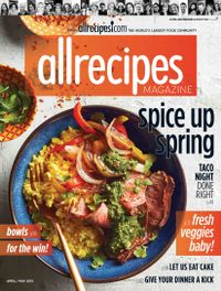 April 01, 2018 issue of Allrecipes