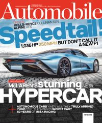 January 31, 2019 issue of Automobile