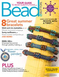 August 01, 2018 issue of Bead&Button