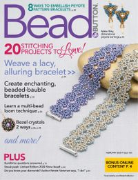 January 31, 2020 issue of Bead&Button