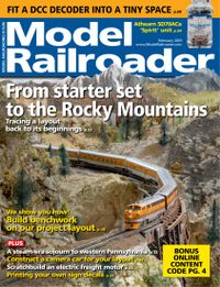 January 31, 2019 issue of Model Railroader