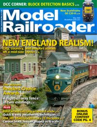 May 01, 2020 issue of Model Railroader