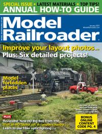 January 01, 2021 issue of Model Railroader
