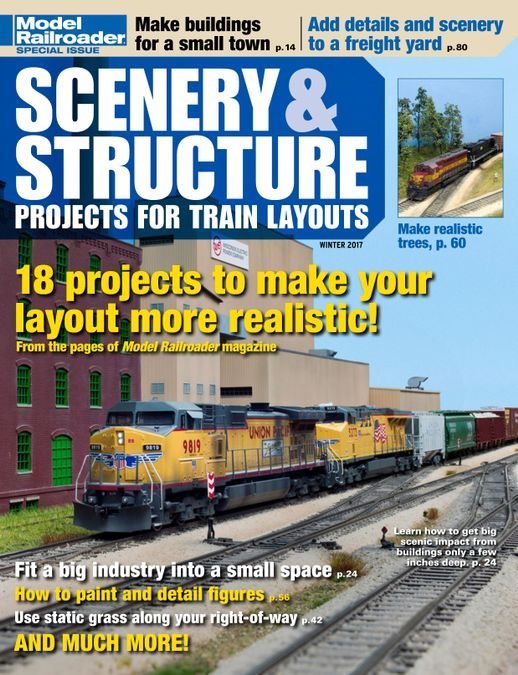 Scenery & Structure Projects for Train Layouts