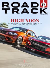 October 31, 2018 issue of Road & Track