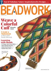 June 30, 2019 issue of Beadwork