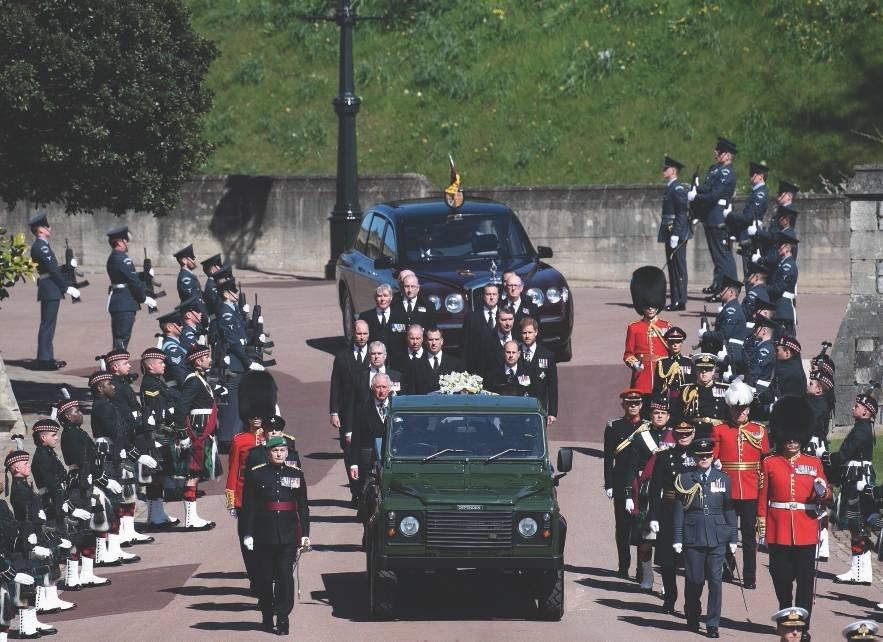 Херман Линдквист о похоронах Принца Филипа